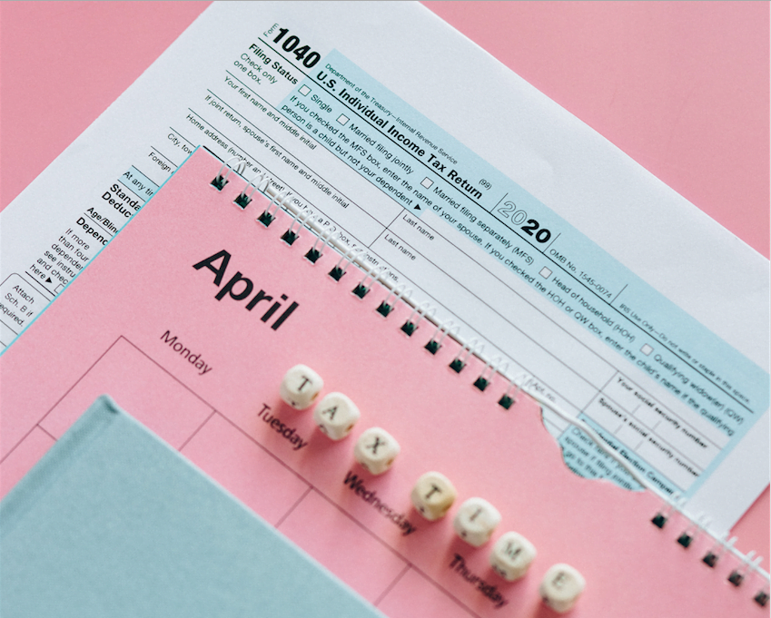 Tax documents to remind clients to file taxes