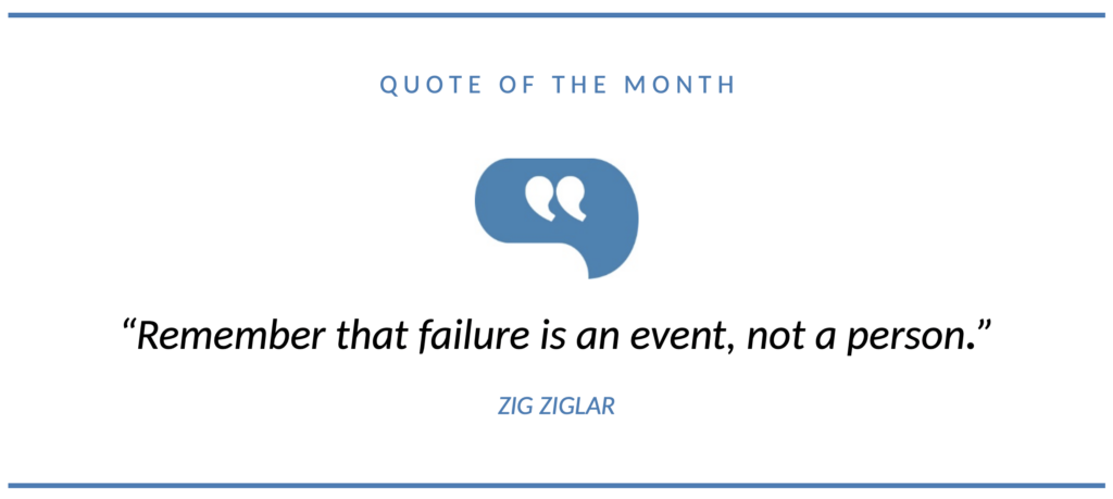 Quote of the Month December