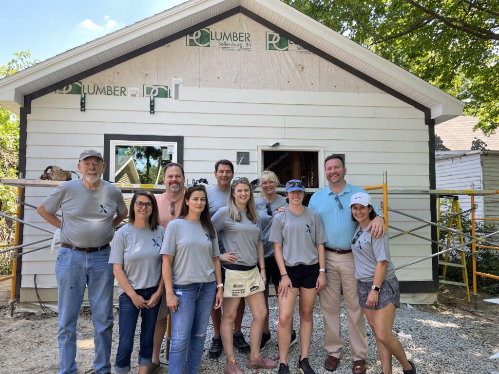 Axiom helps the community during Habitat event